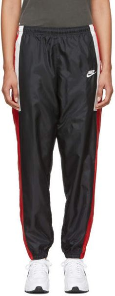 Nike for Women Collection Athletic Pants, Nike Outfits, Black Nikes, Parachute Pants, My Style, Track, Fitness, Red, Collection