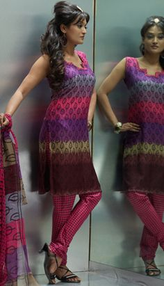 Churidar, Salwar Kameez, Party Wear, Indian, Suits, Patterns, Printed, Link, Sweaters