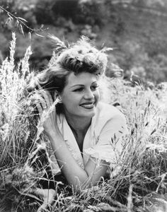 Rita Hayworth, 1950. Photographed by Philippe Halsman
