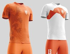 I've made a redesign of the Dutch soccer team tenue, because i think that can maby use a new design.