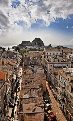 Town of Corfu Island, Greece (by Vlasis Tsonos)
