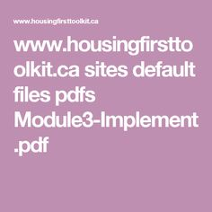 www.housingfirsttoolkit.ca sites default files pdfs Module3-Implement.pdf