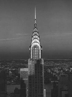 Chrysler Bulding, New York City 3 Wall Decal by Henri Silberman - AllPosters.co.uk