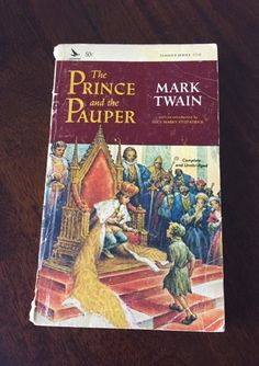 The Prince and the Pauper Vintage Classic Book by Mark Twain by TheHollowRound