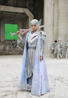 Our third exclusive article for Ice Fantasy :)) Seriously, can we talk about how pretty Ma Tianyu is? Great news, Ice Fantasy will also be airing in Korea. For the enjoyment of Victoria's Kor… Ice Fantasy, Fantasy Films, Ice Princess, Artwork Images, Fantasy Costumes, Fantasy Inspiration, Snow Queen, Drama Movies, Muslim Women