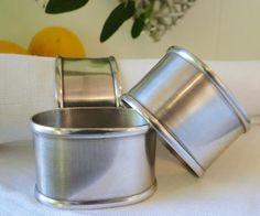 Homewares & Home Decor Online-Pewter Napkin Rings Set of 6-Home & Living