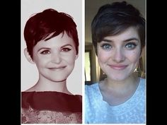 ▶ how to style a pixie haircut (ginnifer goodwin style) - YouTube. Will need soon! Yippie!