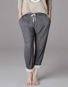 Pantalon tissu marbré - Pantalons - Homewear - France