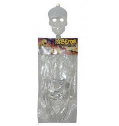 Squelette phosphorescent 75 cm