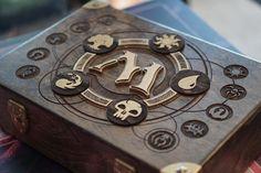 MtG Custom Wooden 720 Cube Box