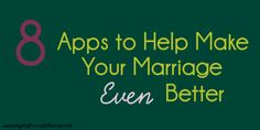 Apps to help make your marriage even better
