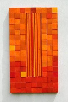 Abstract Painting on Reclaimed Wood - Sailors Warning by Michael Milton. $2,000.00, via Etsy.