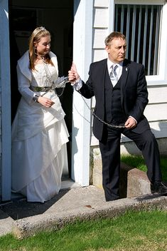 Just Married Brides And Bridesmaids Submissive Dream Wedding Wedding Day Marriage