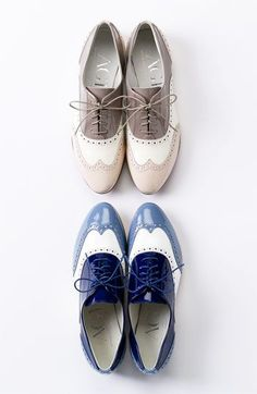 Attilio Giusti Leombruni Tri Color Oxford - so cute!