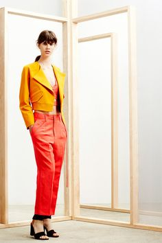 Derek Lam 10 Crosby | Resort 2015 Collection | Style.com