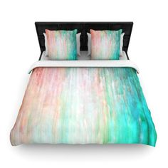 Found it at AllModern - Color Wash Teal by Iris Lehnhardt Woven Duvet Cover