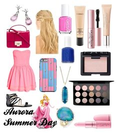 Untitled #99 by adison1224 on Polyvore featuring Nine West, Jimmy Choo, Pamela Huizenga, Serena Fox, Kendra Scott, MAC Cosmetics, NARS Cosmetics, Too Faced Cosmetics, Giambattista Valli and Pluie