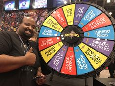 Any day where you win free units is a good day, congrats to another prize wheel winner! (It came SUPER close to flipping over to the other slot! His luck stayed with him, though). Buy this Prize Wheel at https://PrizeWheel.com/products/floor-prize-wheels/floor-and-table-prize-wheel-12-24-slot-adaptable/.