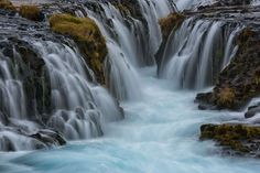 Cascada Bruarfoss, Islandia
