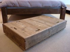 Under The Bed Storage Containers Photo — Modern Storage Bed ...