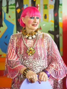 Fashion and textiles designer Dame Zandra Rhodes on her inspirational mother, sparkly shoes and her passion for prints