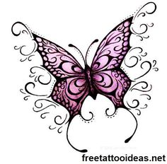 butter fly ink - http://www.freetattooideas.net/butterfly-tattoos/