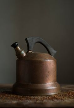 Antique Copper Tea Kettle  C.1910