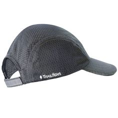 Race Day Running Cap - Charcoal Gray by TrailHeads