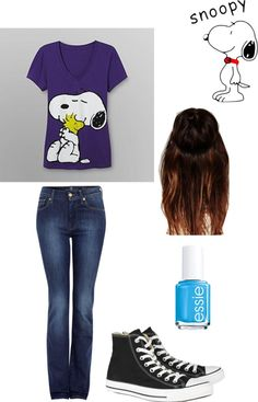 """""""Snoopy shirt"""" by dtiij on Polyvore"""