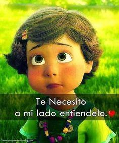 Te necesito a mi lado entiéndelo. #amor #love
