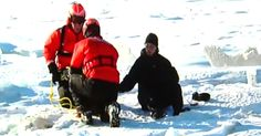 """Coast Guard Saves A Pooch Stranded On The Ice via LittleThings.com"""