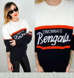 Cincinnati Bengals sweater - I must find this! Want this sweater so badly!!