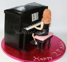 Lady at Piano