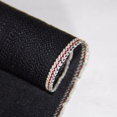 Denim Fabric, Cotton Fabric, Japanese Selvedge Denim, Fabric Suppliers, Zip Around Wallet, Detail, Black, Fashion, Moda