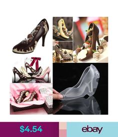 c173053badfe Baking Accs.   Cake Decorating Diy 3D High Heel Shoes Chocolate Candy Mould  Sugar Paste Mold Cake Decor 1Pc  ebay  Home   Garden