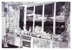 "Pietsjanke Fokkema ""De keuken in de nacht"" (2007)."