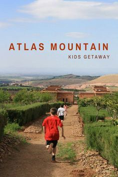 Ziplining in the Atlas Mountains. For a great adventure day trip from Marrakech or overnight kid-friendly resort visit Terres d'Amanar!