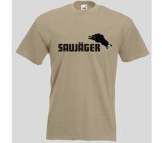 T-Shirt Saujäger / mehr Infos auf: www.Guntia-Militaria-Shop.de