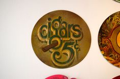 Chris Dobell   Flickr Good Cigars, Cigars And Whiskey, Cigar Humidor, Cigar Boxes, Hand Painted Signs, Painted Wood, Types Of Art, Type Art