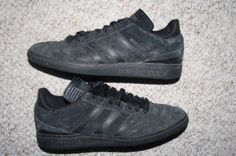 Adidas Busenitz soccer shoes gray & black eight 1/2 8.5 - 42 European MensChoice #adidas #soccer