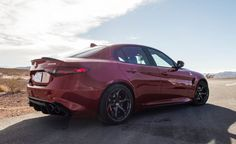 2017 Alfa Romeo Giulia Quadrifoglio Tested: Move Over, BMW - Photo Gallery of Instrumented Test from Car and Driver - Car Images - Car and Driver