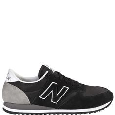 New Balance 420 Black/Grey suede