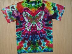 Adult Small Butterfly Tie Dye by tiedyetodd on Etsy, $30.00