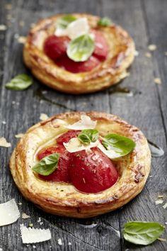 Tomato Tarts recipe on http://www.nomu.co.za/recipes