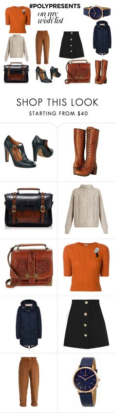 """""""#PolyPresents: Wish List - My Style"""" by natmariscorner ❤ liked on Polyvore featuring Chie Mihara, Frye, Retrò, Vince, Patricia Nash, Miu Miu, Wemoto, DKNY, contestentry and polyPresents"""