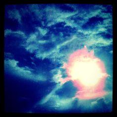 wolken & zon