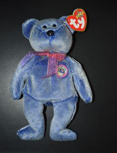 3f32334ccf6 TY Beanie Baby - Periwinkle the e-Beanie (2000