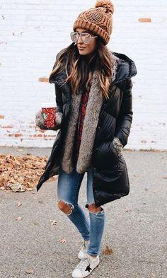 Herbst-Winter-Trends Wir entdecken die Modetrends der Saison Autumn-Winter-Trends We discover the fashion trends of the season. Fashion Mode, Look Fashion, Trendy Fashion, Womens Fashion, Fashion Black, Street Fashion, Fall Fashion, Fashion 2016, Latest Fashion