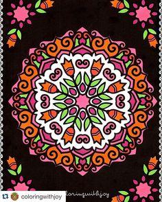 New Coloring Book By Papeteriebleu Mandalasatmidnight Adultcoloringbooks Mandalas Mandalapassion