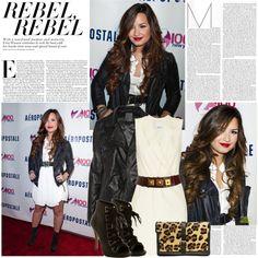 Dress like Demi Lovato by hannahrox313